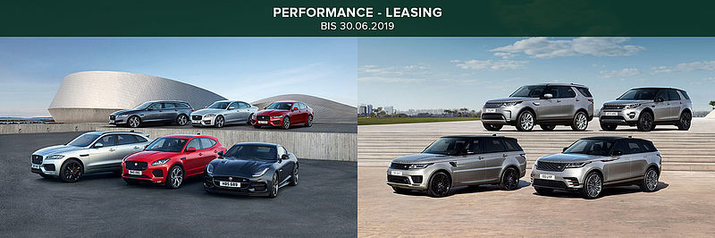 Jaguar Land Rover Performance - Leasing  2019